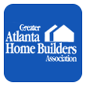 greater atlanta home builders logo and link